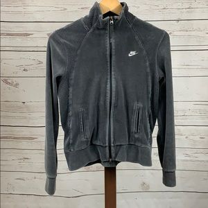 Nike Soft Gray Zip Jacket